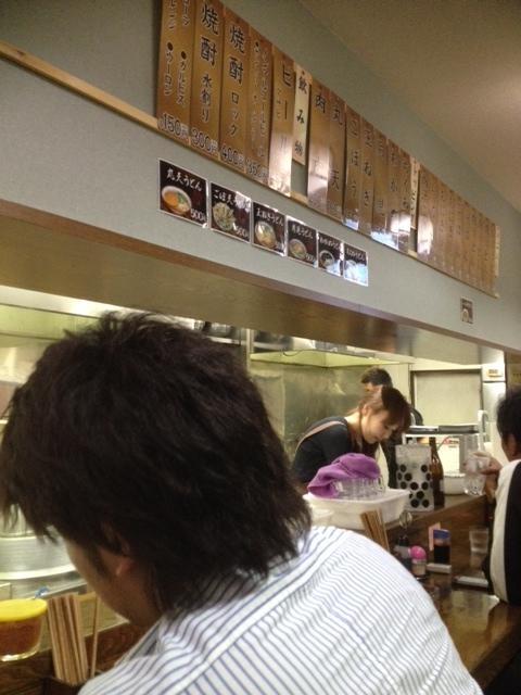 肉うどんの一麺